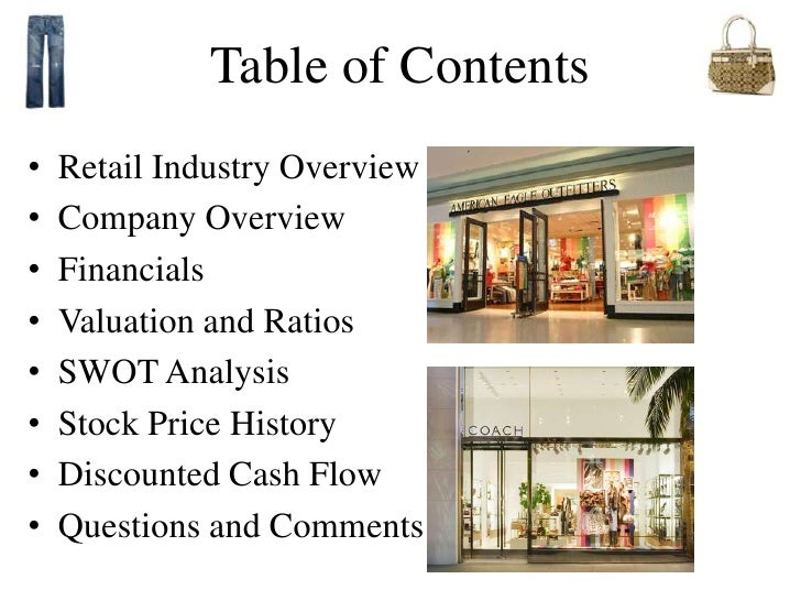 swot for aeo Home retailing american eagle outfitters, inc - strategy, swot and corporate finance report.