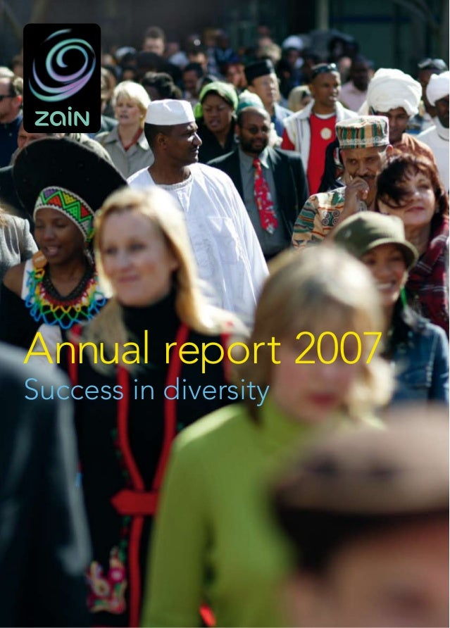 Annual report 2007Success in diversity