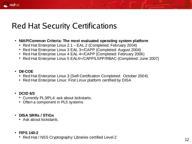 2008-01-22 Red Hat (Security) Roadmap Presentation