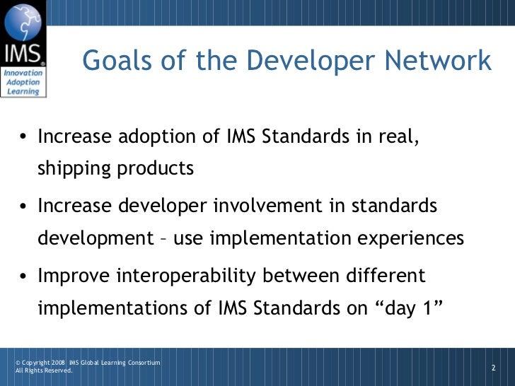 IMS Developer Network Slide 2