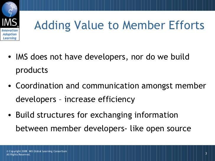 IMS Developer Network Slide 3