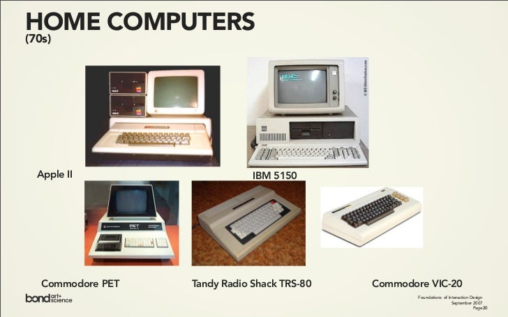PERSONAL COMPUTING (1975)                          Foundations of Interaction Design                                      ...