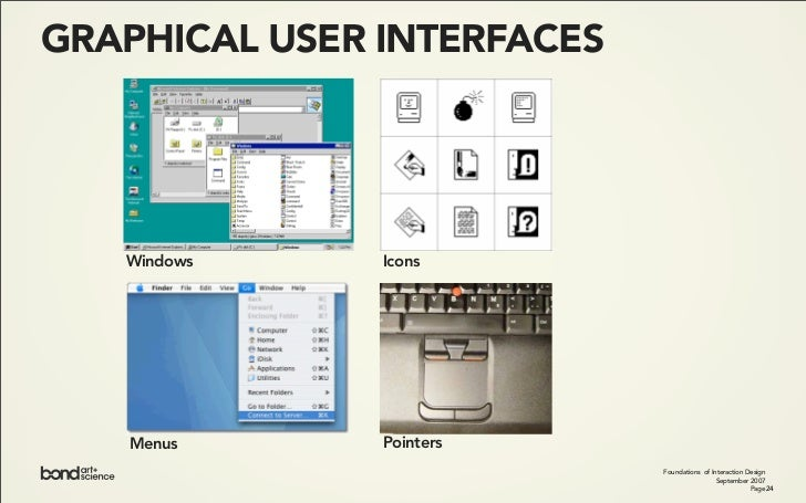 WINDOWS               Foundations of Interaction Design                            September 2007                         ...