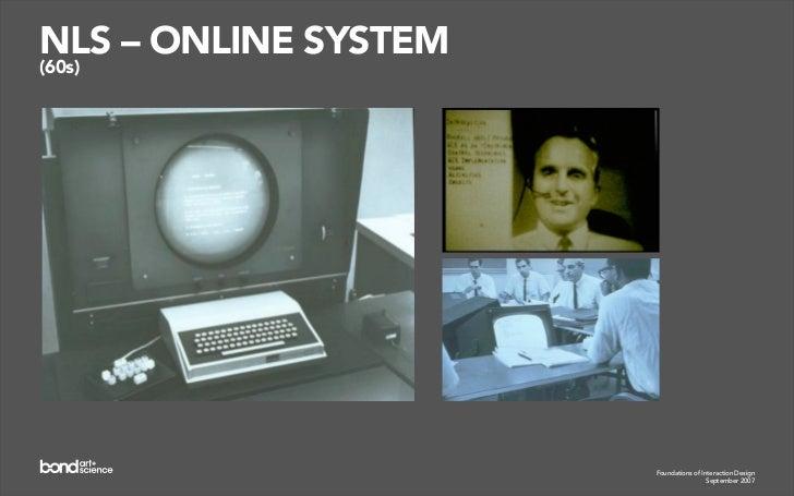 XEROX ALTO (1973)                  Foundations of Interaction Design                               September 2007