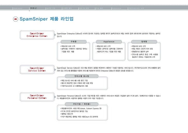 Summary   제품군                       솔루션 구성                 다양한 엔진                 특징 및 장점   주요 화면       Reference    지란지교소...