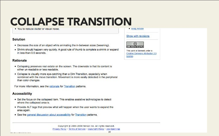 COLLAPSE TRANSITION                    39