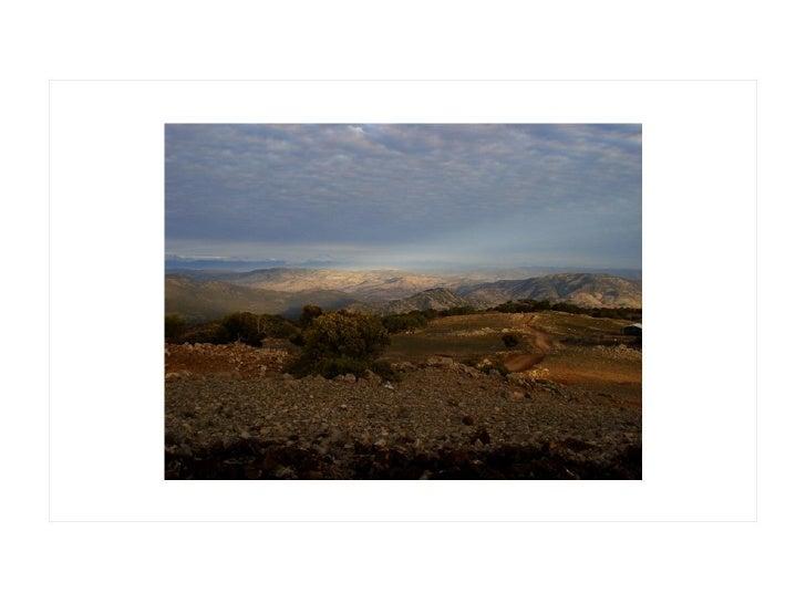 La acentuación de un paisaje. Mirador Los Chacayes