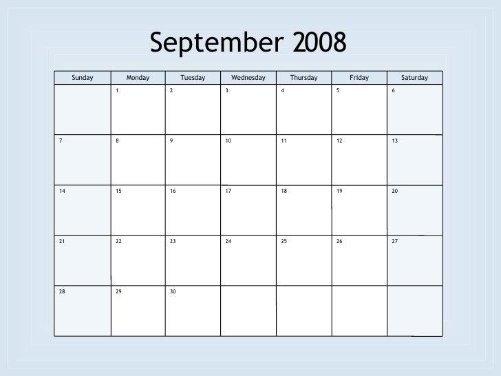 September 2008 - Roman Catholic Saints Calendar