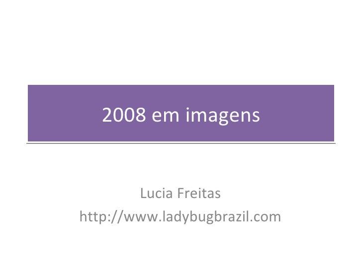 2008 em imagens Lucia Freitas http://www.ladybugbrazil.com