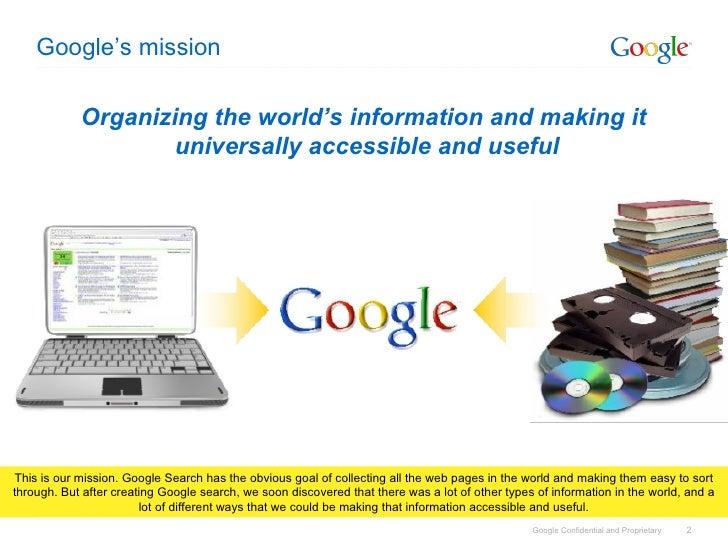 Google Products & Google Maps Slide 2