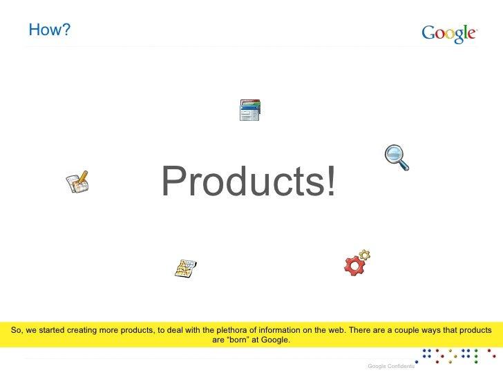 Google Products & Google Maps Slide 3