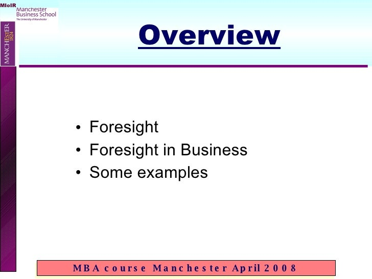 corporate foresight - an introduction Slide 2
