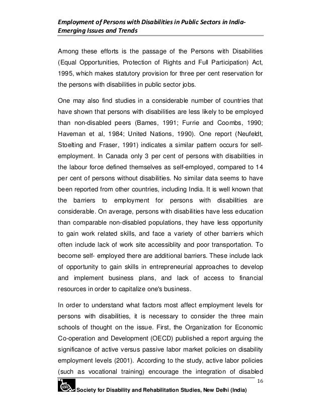 persons with disabilities equal opportunities act 1995 pdf