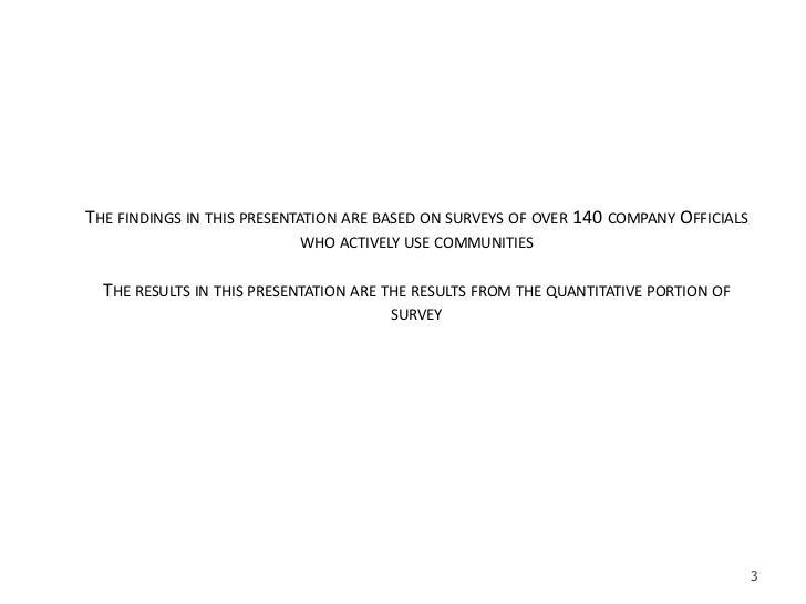 2008 Tribalization Of Business Study   Quantitative Slide 3