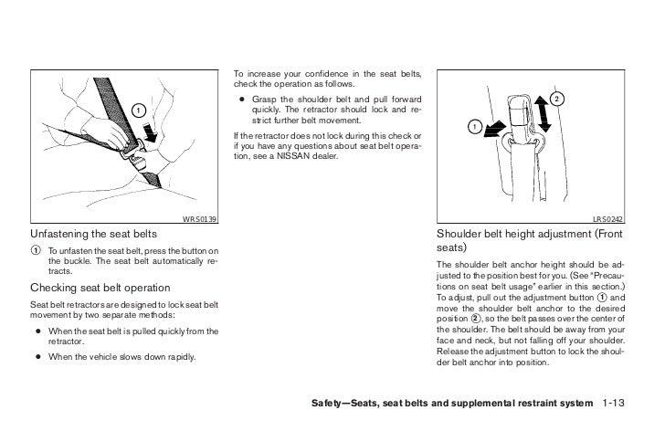 2008 versa owner's manual.
