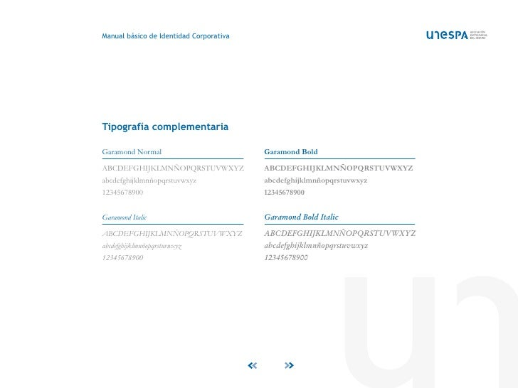 UNESPA: Manual básico de Identidad Corporativa