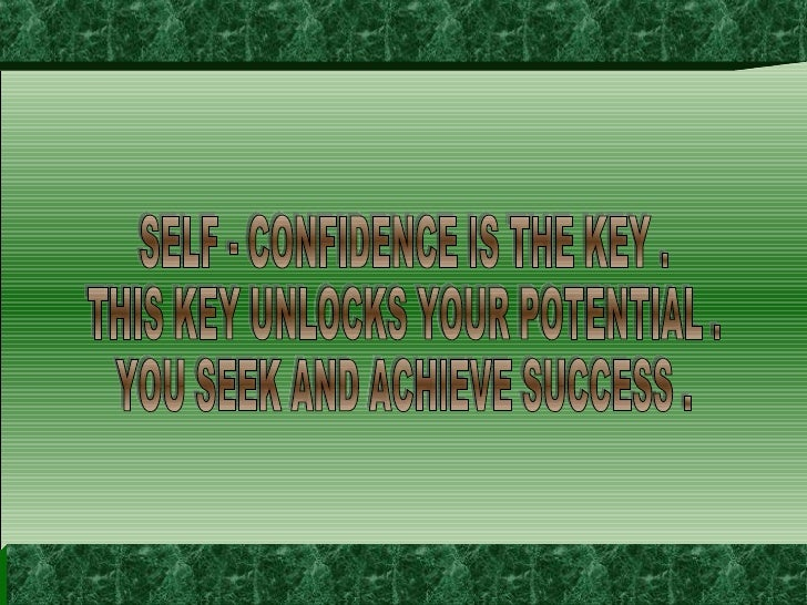 20080211 Self Confidence The Key To Success ~ 36s ~ Rkm