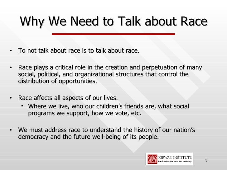 the role of race in our society In the textbook, diversity and society: race, ethnicity and gender, joseph f  healey  and racial inequity are deep‐rooted and consequential in our society  and  it discusses the dominant‐minority relationship and the roles of  assimilation and.