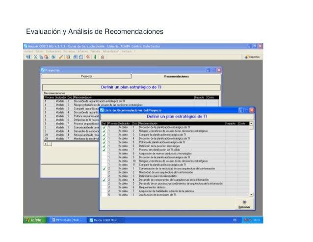 Balance Scorecard TI (Indicadores y Métricas)