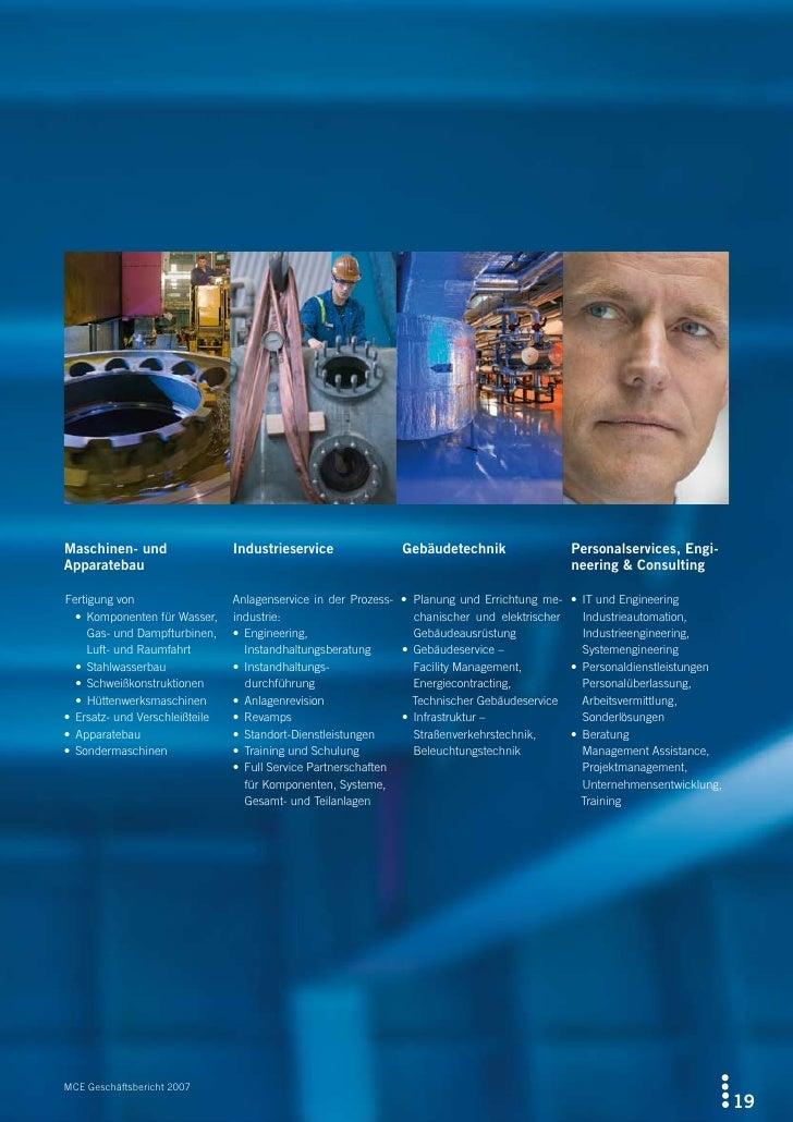 Maschinen-und               Industrieservice               Gebäudetechnik                  Personalservices,Engi- Appa...