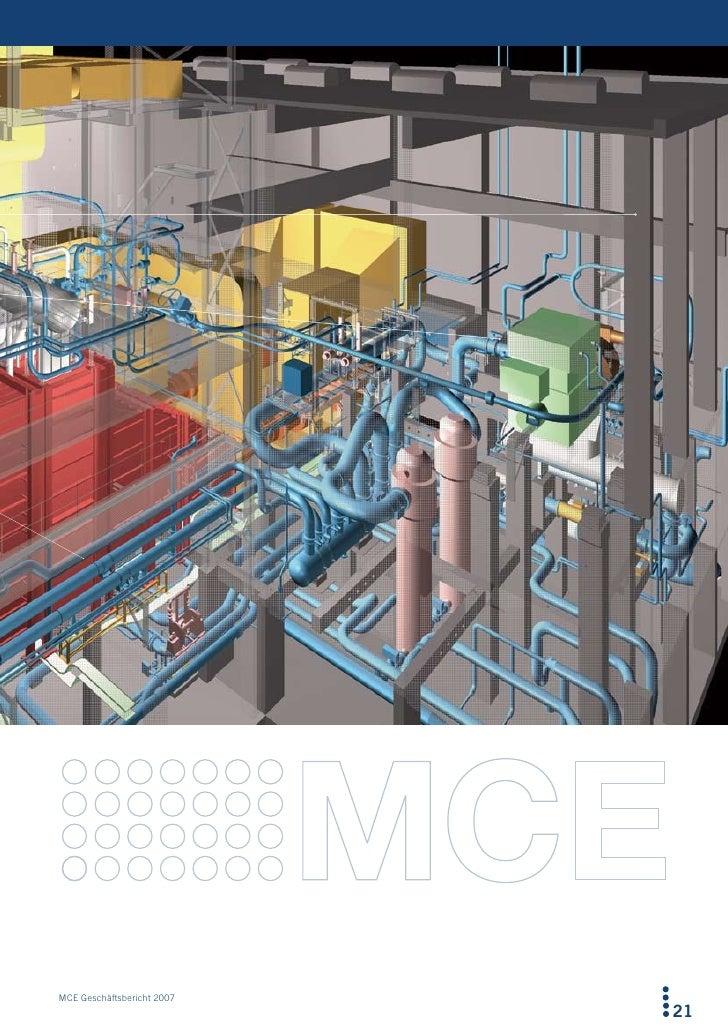 MCE Geschäftsbericht 2007                             21