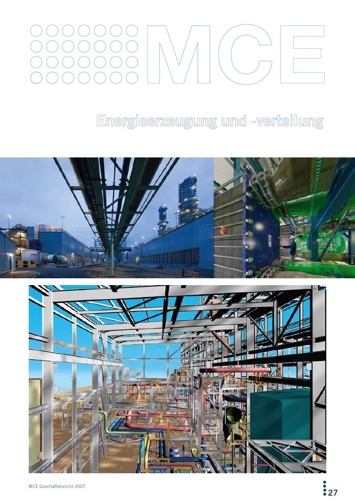MCE Geschäftsbericht 2007                             27