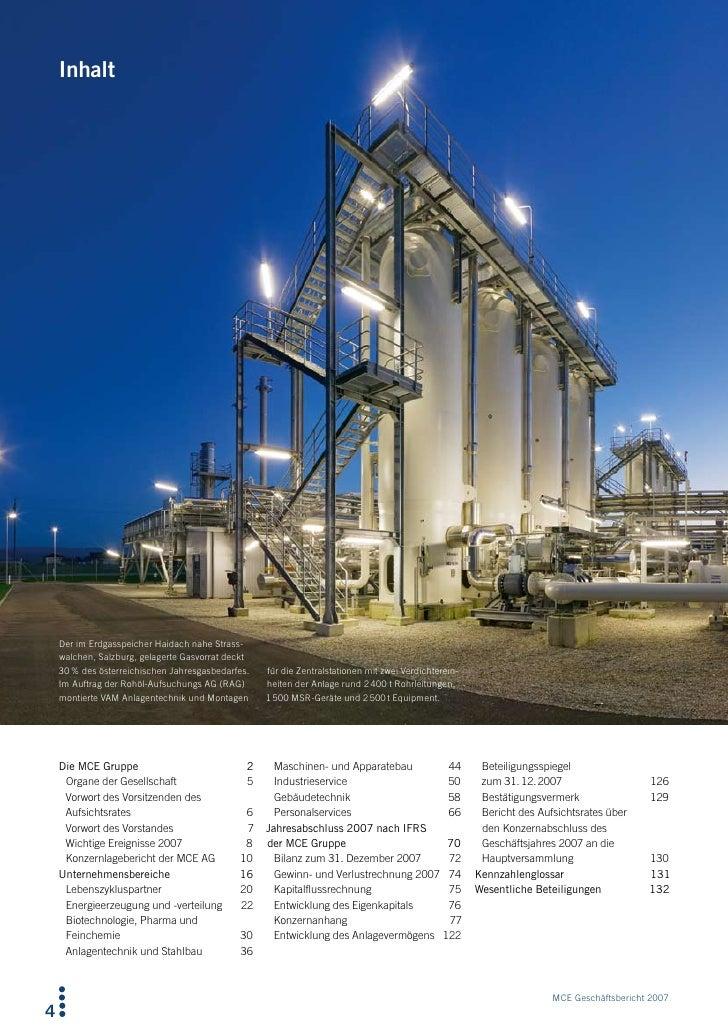 Inhalt         Der im Erdgasspeicher Haidach nahe Strass-     walchen, Salzburg, gelagerte Gasvorrat deckt     30 % des ös...