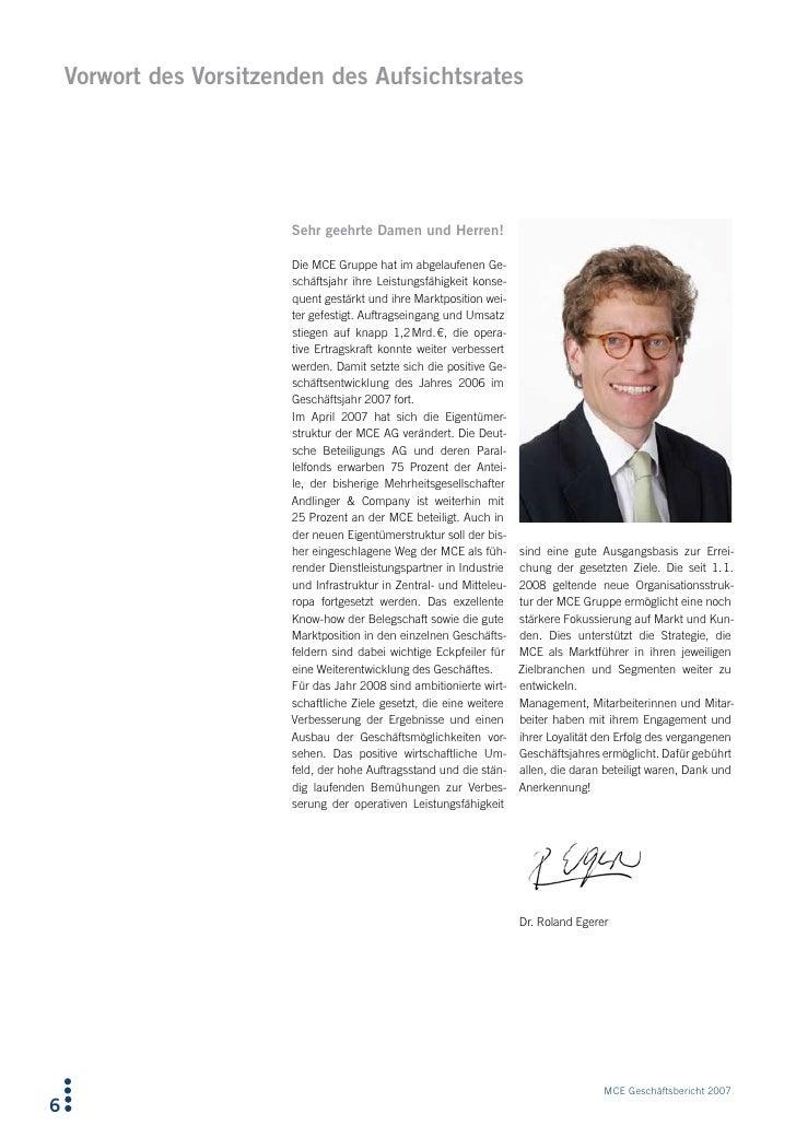 Vorwort des Vorsitzenden des Aufsichtsrates                              SehrgeehrteDamenundHerren!                  ...