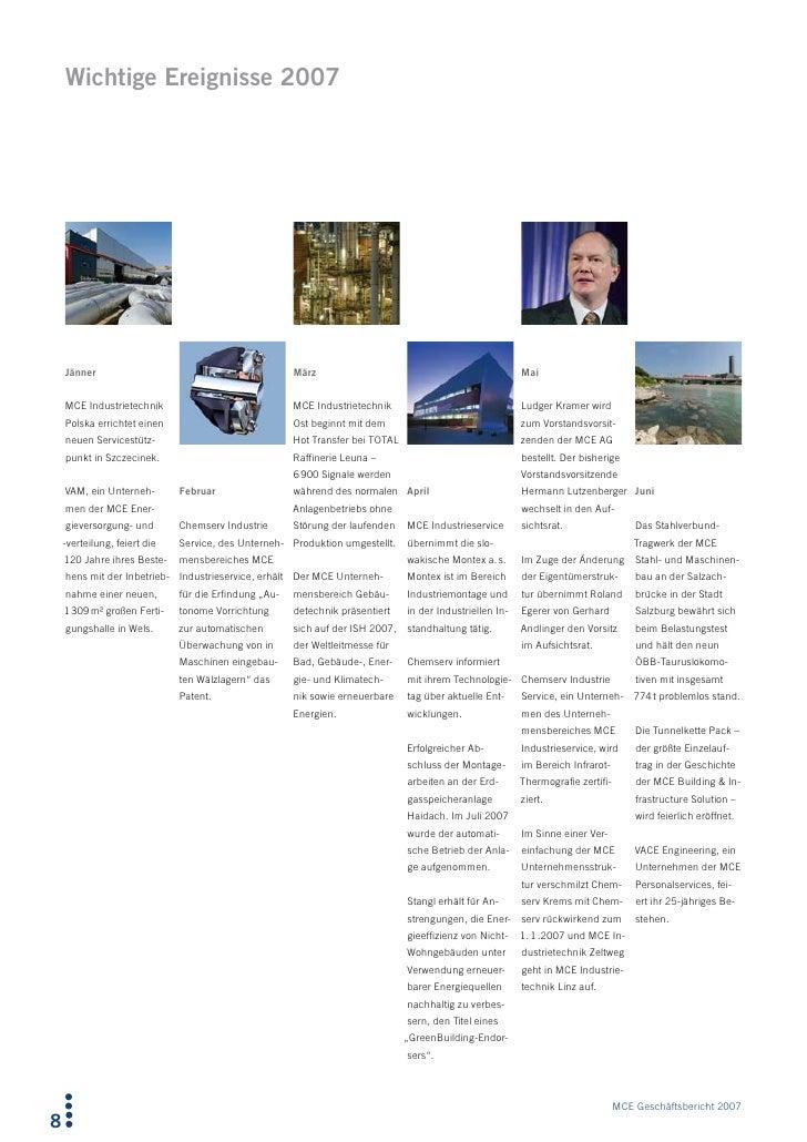 Wichtige Ereignisse 2007         Jänner                                            März                                  ...