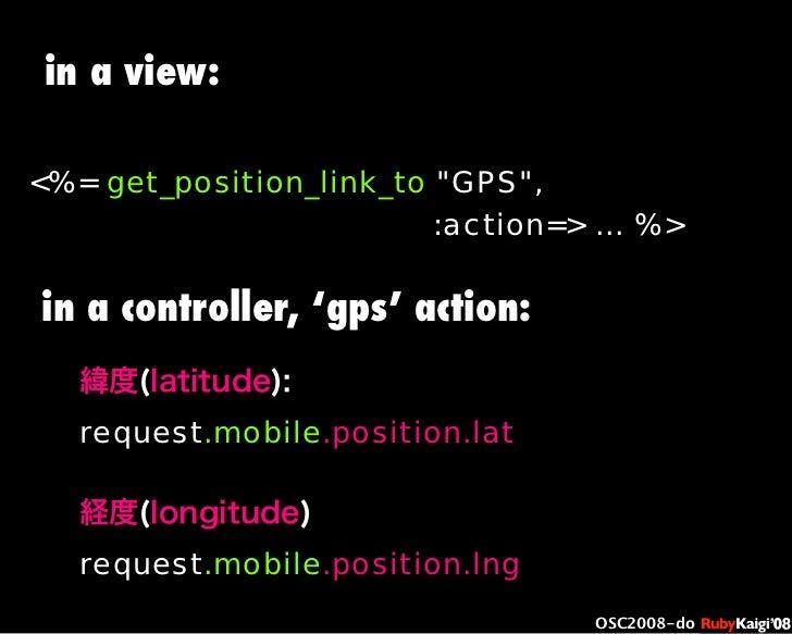 "œ { Œ ^ C g Ł œ {Ruby c2008 S f [ ^ œ { Œ ^ C g ¨ œ { Œ ^ C g Ł œ { Œ ^ C g ¨ OSC2008-do <%= get_position_link_to ""GPS"", :..."