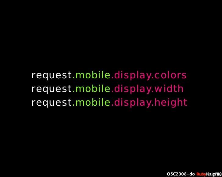 œ { Œ ^ C g Ł œ {Ruby c2008 S f [ ^ œ { Œ ^ C g ¨ œ { Œ ^ C g Ł œ { Œ ^ C g ¨ OSC2008-do request.mobile.display.colors req...