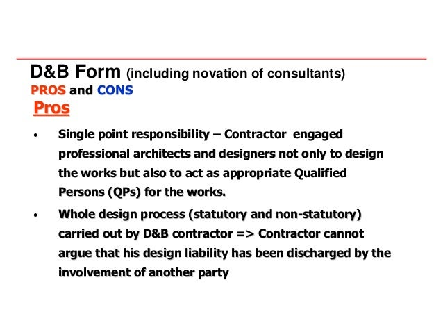 20080704 innovative approach in contracts and tender for B b contract