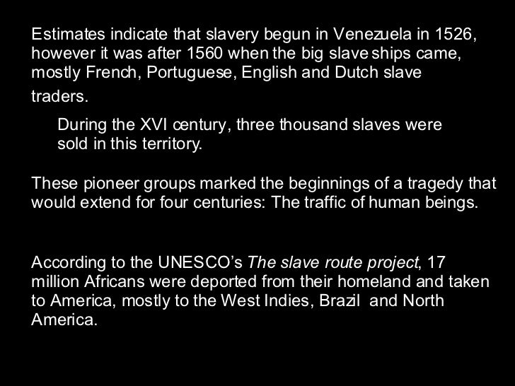 Slavery in north america introduction and