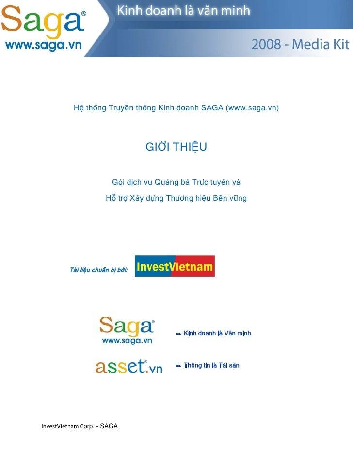 Hệ thống Truyền thông Kinh doanh SAGA (www.saga.vn)                                      GIỚI THIỆU       ...