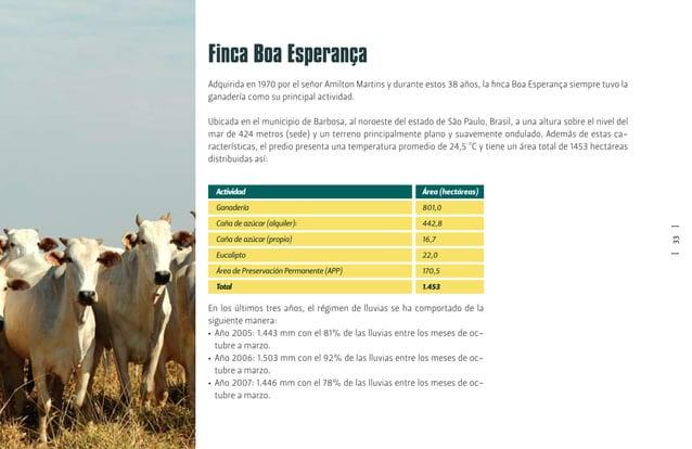 [35] En la recría y principalmente en el periodo seco del año, los animales reciben un suplemento de baja ingestión que co...