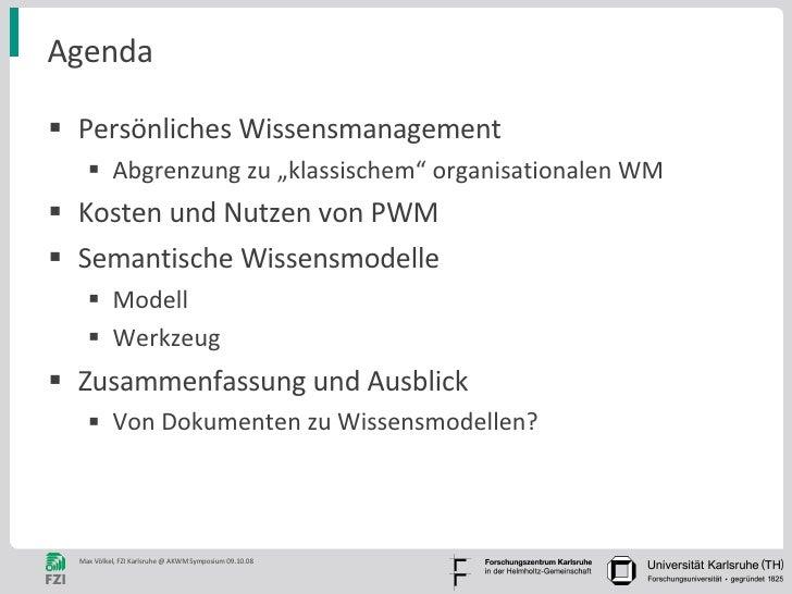 Persönliches Wissensmanagement mit Semantischen Technologien Slide 2