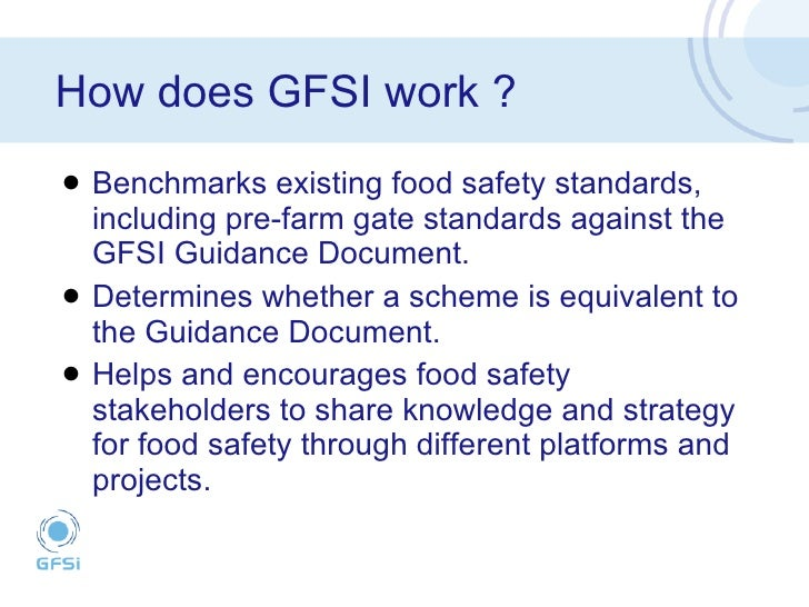 The Food Business Forum -- Global Food Safety Initiative