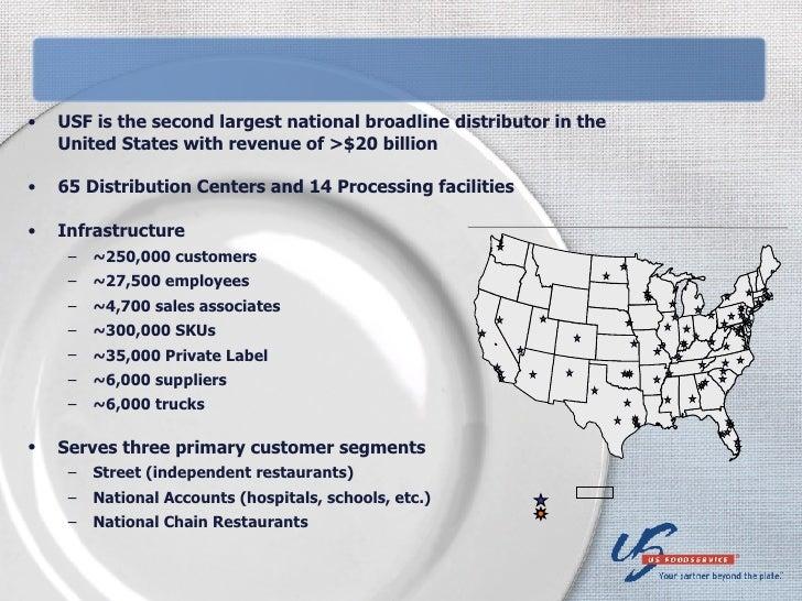 Distribution Challenges -- U.S. Foodservice Presentation Slide 2