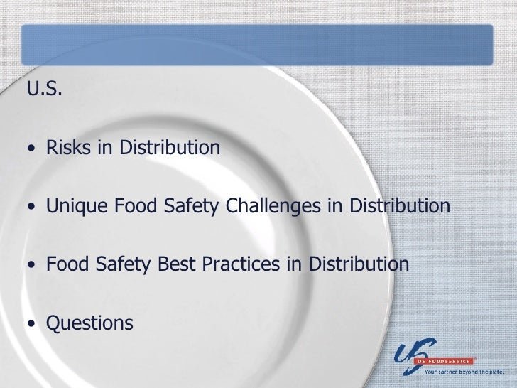 Distribution Challenges -- U.S. Foodservice Presentation Slide 3