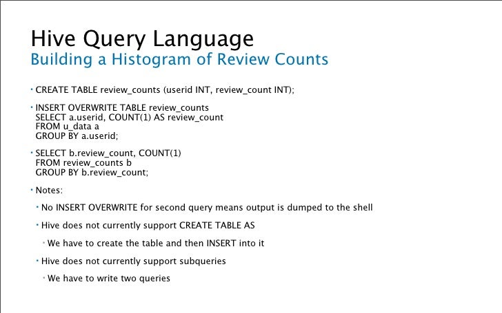 Hive Query Language Running Custom MapReduce ▪   Put the following into weekday_mapper.py:     ▪   import sys         impo...