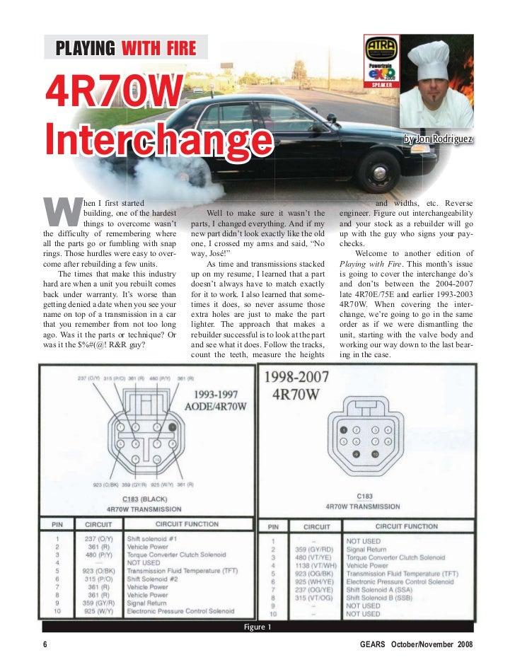 4R70W Interchange