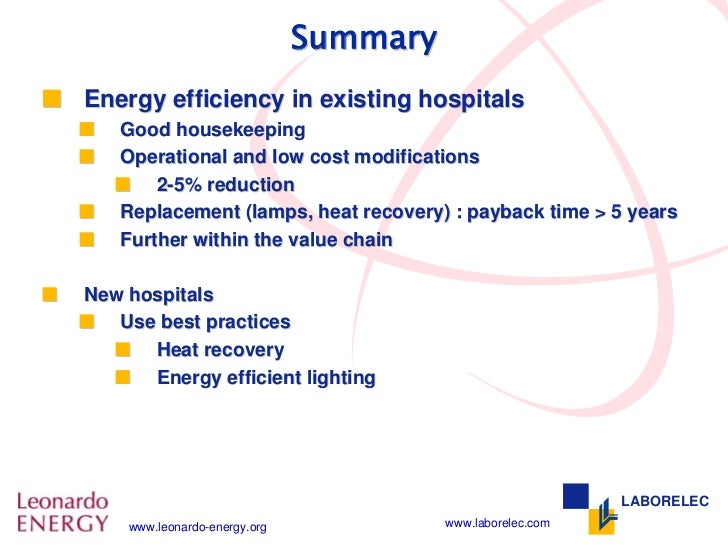 Energy Efficiency Coming To A Hospital Near You ... |Energy Efficient Hospitals