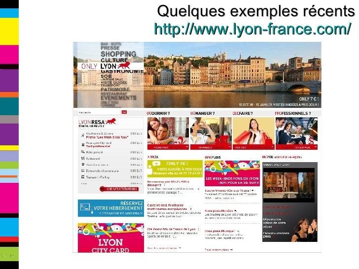 Quelques exemples récents http://www.lyon-france.com/