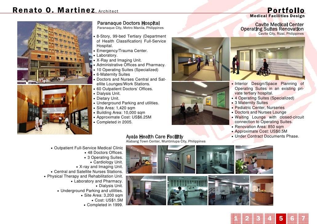 RO Martinez Architects Portfolio
