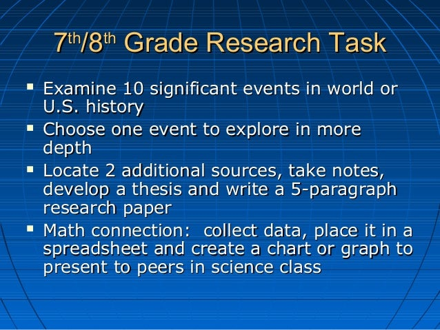 world history research paper assignment Term paper reference guide history department ment description of the 10th grade term paper assignment: of the bulge during the second world war.