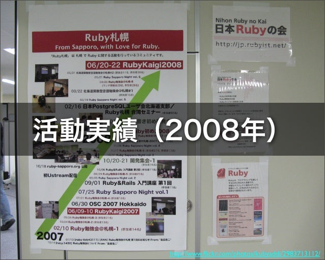 20081220 Rubybonenkai2008 Sapporo Slide 2