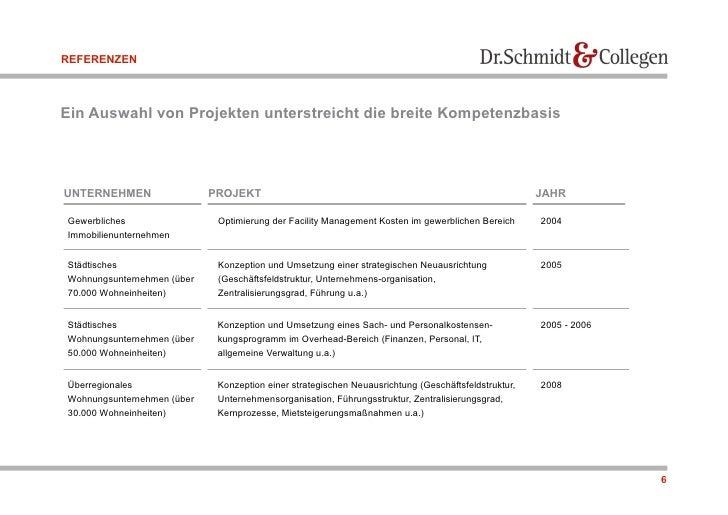 REFERENZEN    Ein Auswahl von Projekten unterstreicht die breite Kompetenzbasis     UNTERNEHMEN                 PROJEKT   ...