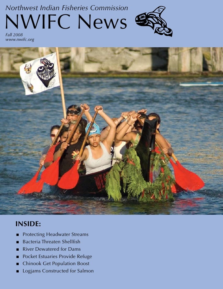 Northwest Indian Fisheries Commission  NWIFC News Fall 2008 www.nwifc.org         INSIDE:     ■   Protecting Headwater Str...