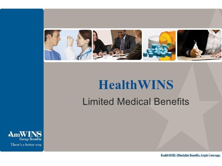 HealthWINS Limited Medical Benefits