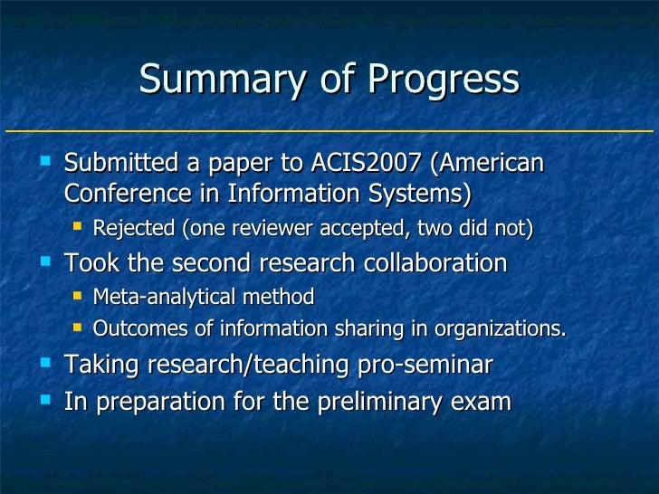 2008 Annual Review Presentation Slide 3